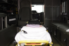Inside of a Rescue Vehicle