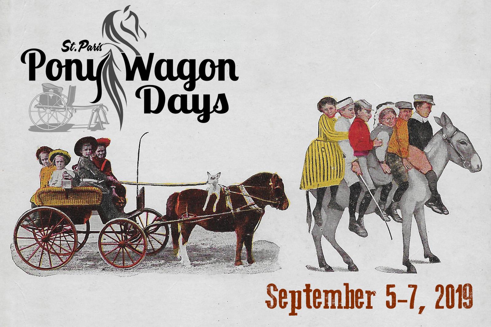 Pony Wagon Days Scheduled…