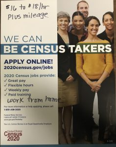 BE A 2020 CENSUS TAKER